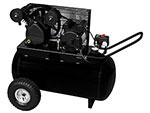 1.6 HP 20 Gallon Horz V-Twin Cast Iron Pump Compressor