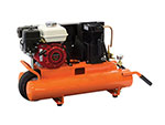 5.5 HP Honda Powered Cast Iron Pump 8 Gallon Wheelbarrow Compressor