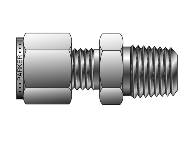 A-LOK Inch Tube NPT Male Connector - MSC