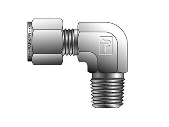 CPI Inch Tube NPT Male Elbow - CBZ