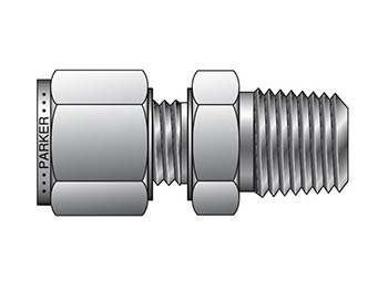 CPI Metric Tube NPT Male Connector - FBZ