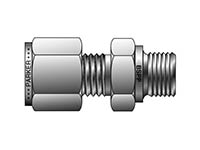 A-LOK Inch Tube BSPP Male Connector - MSC