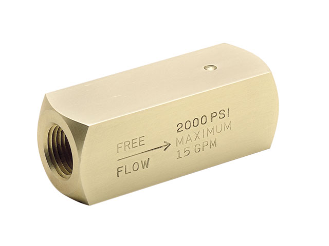 Colorflow Check Valve - BSPP