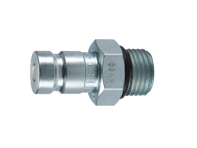 PD Series Nipple - Metric Straight Thread